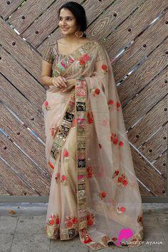 Cotton Sarees Online Shopping, Designer Sarees Online Shopping, Best Designer Sarees, Designer Sarees Collection, Saree Shopping, Cotton Saree Blouse Designs, Wedding Saree Blouse Designs, Blouse Patterns, Floral Print Sarees
