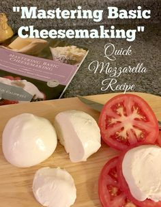 Have you tried your hand at cheesemaking yet? Let Mastering Basic Cheesemaking break it down into easy to follow steps.
