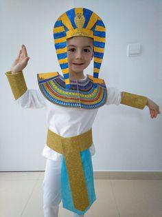 Disfraz Casero Egipcio Faraón Pharaoh Egyptian Home Costume
