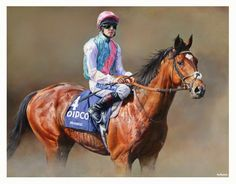 FRANKEL Portrait by Sean McMahon. Limited Edition Horse Racing Print signed by artist Colored Pencil Artwork, Paintings I Love, Horse Paintings, Thoroughbred Horse, Racehorse, Horse Art, Horse Horse, Equine Art, Horses