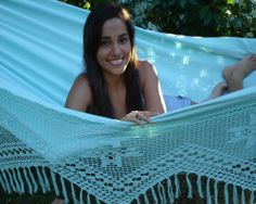 Blauwe Clarrisimo hangmat Cover Up, Beach, The Beach, Beaches