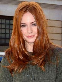 beautiful red hair karen gillan - Buscar con Google