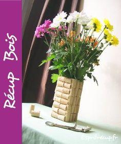 vase en bouchon de liege