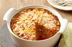 Lazy Cabbage Roll Casserole Recipe - love cabbage rolls?  You'll love them even more when they're this easy to make.