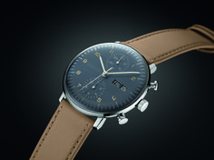 Just a few hours later I received a press release with a new model from the Junghans Max Bill Chronoscope line-up. And I must say that I am quite impressed.