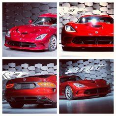 2013 Dodge viper- Mystic Red