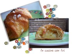 Cornetti alla mela http://dirittierovesci.blogspot.it/2010/01/tre-ricettine-gradite-dai-piccoli-e-dai.html