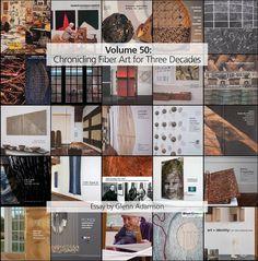 Volume 50: Chronicling Fiber Art for Three Decades Fibre Art, Colour Images, Fiber, Japan, Low Fiber Foods, Japanese