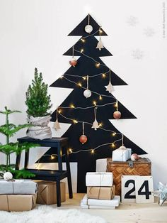 Christmas tree alternative.
