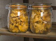 Stérilisation au naturel des champignons