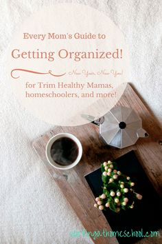 Get organized! Blog series with free printables and Erin Condren Life Planner Giveaway
