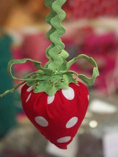 Strawberry w/ ric rac