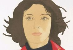 Ann Lauterbach by Alex Katz (1978)