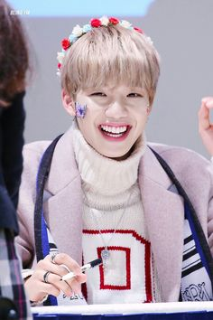 #Lim Youngmin - Fansign - 180211 Cre: BLING YM