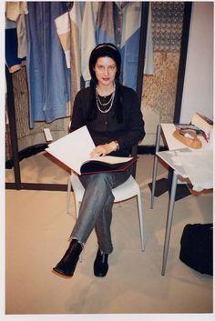 Julie Skarland, summer 2001, Showroom Workshop, Paris, Photo: Tom Sandberg