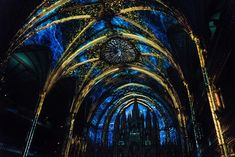 Mapping Experience into Montreal Cathedral by Moment Factory