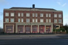 Doncaster old fire station, Leger Way, Doncaster, South Yorkshire, built in 1936 and closed in 2004.