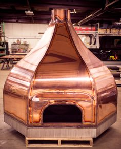 Copper Camelot 120 | Woodfired oven | MWH continuing to perfect unique options for our clients. Mobile Pizza Oven, Diy Pizza Oven, Pizza Oven Outdoor, Pizza Ovens, Wood Oven, Wood Fired Oven, Wood Fired Pizza, Pizza Restaurant, Restaurant Design