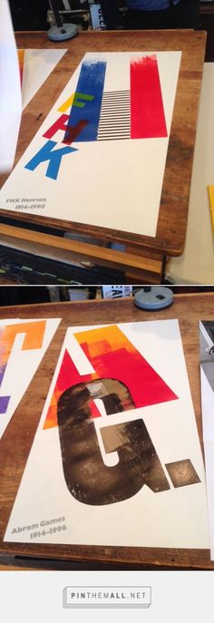 Alan Kitching's Full Court Letterpress