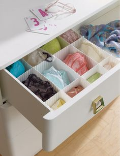 Drawer Divider $5 containerstore.com