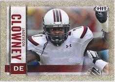 Jadeveon Clowney (Rookie) Houston Texans 2014 Sage Hit (Gold Parallel) card #7