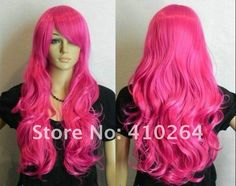 big pink wig