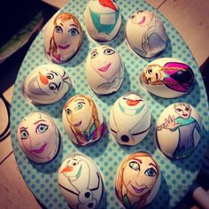 Unique Disney Frozen Easter Egg Design