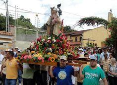 MIRANDA. Municipio Zamora. Virgen del Carmen Patrona de Araira.