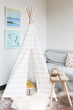 DIY: Fabric Play Tent