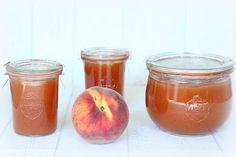 Rezepte mit Herz   ♥: Bellini Jam ♡ Pfirsisch Marmelade