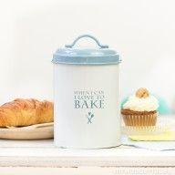 Boîte métal - I love to bake #utileencuisine