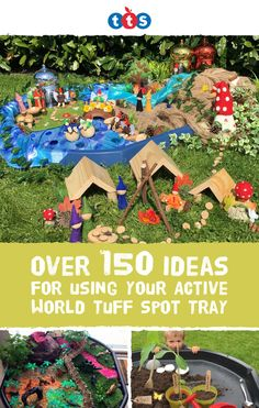 Used in settings for over a decade, Active World Tuff Spot Trays offer a flexible contained space for open-ended play. Discover new ways to deliver quality learning opportunities with the versatile Tuff Tray. Here are some favourites ideas. Montessori, Nursery Activities, Toddler Activities, Summer Activities, Learning Through Play, Kids Learning, Tuff Tray Ideas Toddlers, Mini Mundo, Outdoor Learning Spaces