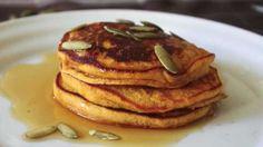 Chef John's Pumpkin Pancakes (10/11/16 good!!!)
