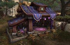 A Look at Garrison Art in Warlords of Draenor - Wowhead News #wow #worldofwarcraft