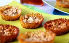 Sesame Pumpkin Seed Snaps Recipe by Anna Olson : Food Network UK