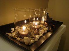 Arrangement with stones