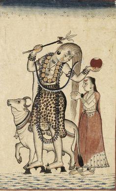 Shiva and Parvati Mandi, India. Date: ca. 1740 - ca. 1770