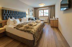 Silberzimmer für den Skiurlaub in Obertauern im Hotel Seekarhaus
