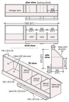 Floor Plan for the inside of the chicken coop