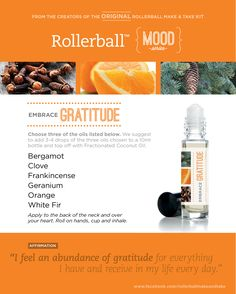 Embrace Gratitude :: Rollerball MOOD Series Make & Take Workshop Kit…