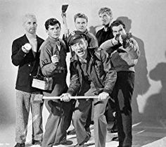Robert Cornthwaite, John Dierkes, Dewey Martin, and Kenneth Tobey in The Thing from Another World Publicity Shot. Sci Fi Horror Movies, Sci Fi Films, Classic Horror Movies, Scary Movies, Ghost Movies, Famous Monsters, Adventure Movies, Classic Monsters, Fantasy Movies