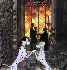 1961- Pongo and Perdita, 101 Dalmations (1961)