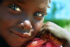 A shy smile from Benguela, Angola
