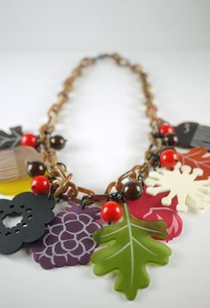 Forest Large Cluster Necklace £240 (sale £120) - AW11 Finders Keepers