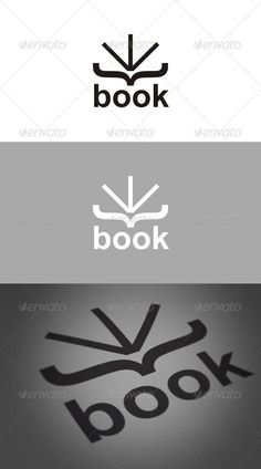 Book Logo - GraphicRiver Item for Sale