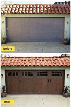 ddf1f21cac4 Outdoor Garage Ideas and Pics of Garage Doors Amarr.  garage   garageorganization  garagedoors