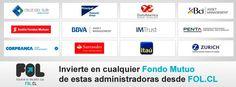 Invierte en cualquer Fondo Mutuo de las administradoras asociadas a www.fol.cl
