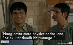 Best Movie Quotes, Best Lyrics Quotes, Engineers Day, 3 Idiots, Bollywood Quotes, Go Getter, Good Grades, College Life, Good Movies