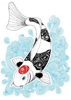 90234546150 Animal posters - prints on metal for animal lovers. Koi Carp ...