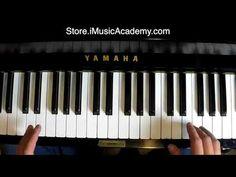 (4782) Easy Jazz Piano Course Example 1 - YouTube